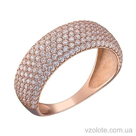 Золотое кольцо с фианитами Памелла (арт. 1191499101)