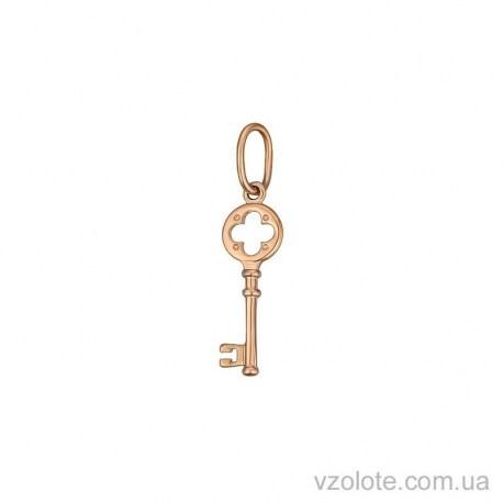 Золотая подвеска Ключик (арт. 3006170101)