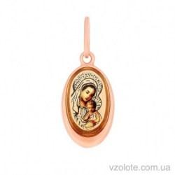 Золотая ладанка Матерь Божья (арт. 3101769101)