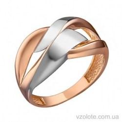 Золотое комбинированное кольцо Саида (арт. 1091463101)