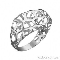 Кольцо из белого золота Химия (арт. 1091530102)