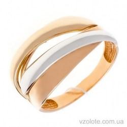 Золотое комбинированное кольцо Андора (арт. 1006081141)