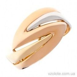 Золотое комбинированное кольцо Асоль (арт. 1006082141)