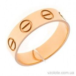 Золотое кольцо в стиле Картье (арт. 1006383101)