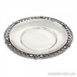 Серебряное блюдце Грация (арт. 8100032)