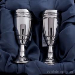 Набор серебряных рюмок на ножке (арт. 0700258100Н)
