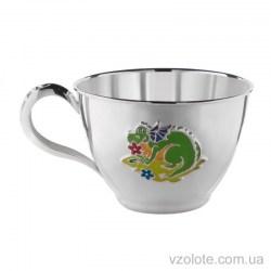 Серебряная чашка с эмалью Дракончик (арт. 0700707000)