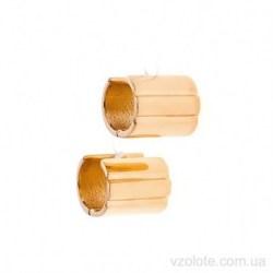 Золотые серьги Бочонок (арт. 2006521101)