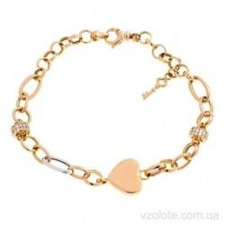 Золотой браслет с подвеской Love (арт. 4216305112)