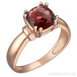 Золотое кольцо с гранатом Диерон (арт. 1191382101г)