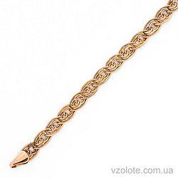 Золотой браслет (арт. 312303)