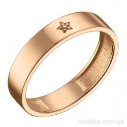 Золотое кольцо с фианитами Чувства (арт. 1106889101)