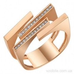 Золотое кольцо с фианитами Дорри (арт. 1107363101)