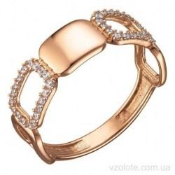 Золотое кольцо с фианитами Лиафи (арт. 1107584101)