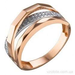 Золотое кольцо с фианитами Агри (арт. 1191364101)