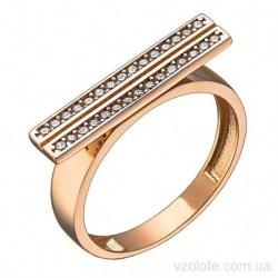 Золотое кольцо с фианитами Гисси (арт. 1191736101)