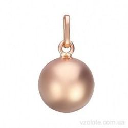Золотая подвеска Шарик (арт. 3005366101)