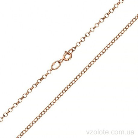 Золотая цепочка круглая Якорная (арт. 5077797101)