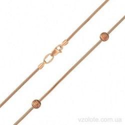 Золотая цепочка-колье Снейк (арт. 5384021101)