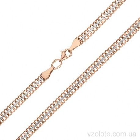Золотая цепочка двойная Панцирная (арт. 5394167112)