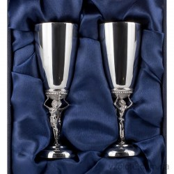 Набор серебряных рюмок Танец 2 (арт. 8100008-Н2)