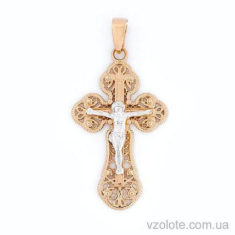 Золотой крестик (арт. 501027)