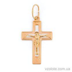 Золотой крестик (арт. 521131нр)