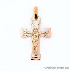Золотой крестик (арт. 501605кбм)