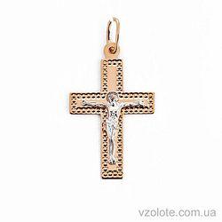 Золотой крестик (арт. 511902рш)