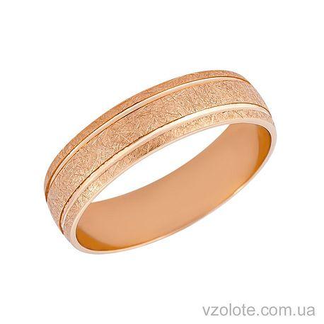 Золотое обручальное кольцо (арт. 10136)