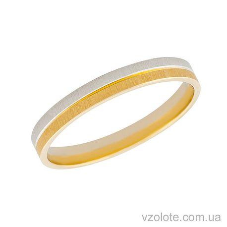 Золотое обручальное кольцо (арт. 451677)