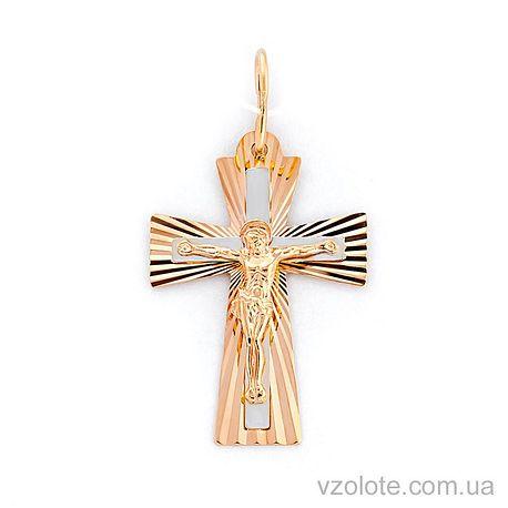 Золотой крестик (арт. 521043н)