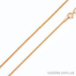 Золотая цепочка Панцирная (арт. 301001) 40 см