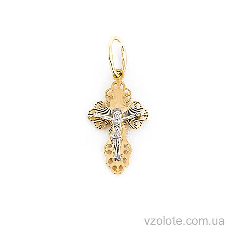 Золотой крестик (арт. 501504ж)
