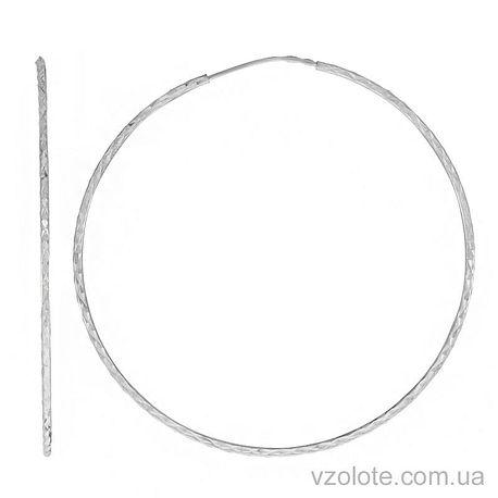 Золотые серьги-кольца (арт. 2002452102)