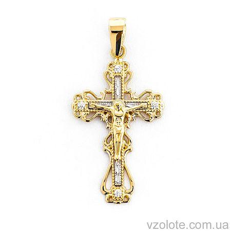 Золотой крестик (арт. 501632жб)