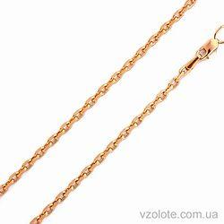 Золотая цепочка Якорная (арт. 306204)