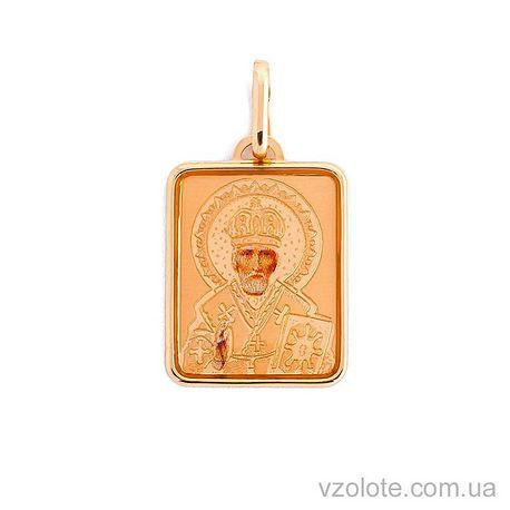 Золотая ладанка Святой Николай (арт. 420848)