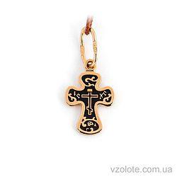 Золотой крестик (арт. 31569-3-01-4)