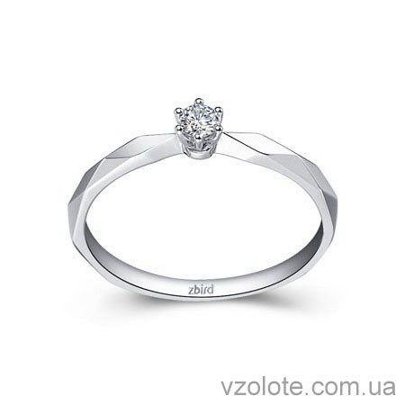 Золотое помолвочное кольцо с бриллиантом Little Princess (арт. ERDH53) 0bb9e915fe6