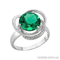 Золотое кольцо с кварцем (арт. 1190433102к)