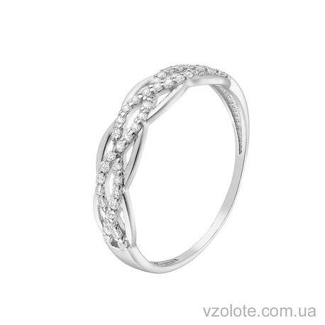 Золотое кольцо с фианитами (арт. 1190865102)