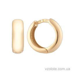 Золотые серьги (арт. 2001425103)