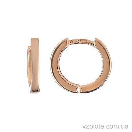 Золотые серьги (арт. 2001426101)