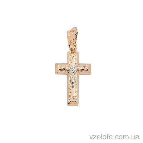 Золотой крестик (арт. 222022)