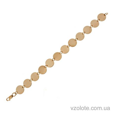 Золотой браслет (арт. 820070)