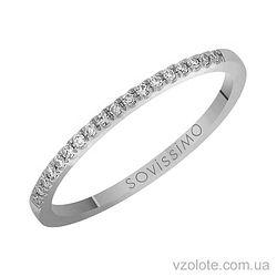 Золотое кольцо с бриллиантом (арт. 1102038202)