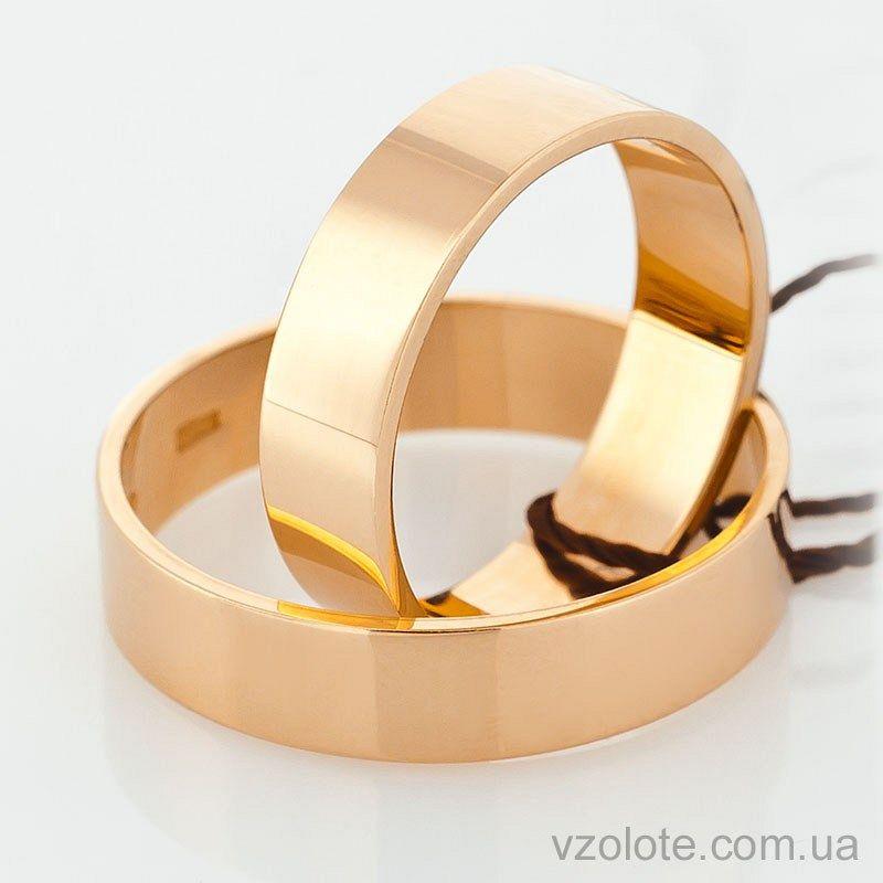 262563fa916e Золотое обручальное кольцо классическое Американка (арт. 10105 ...