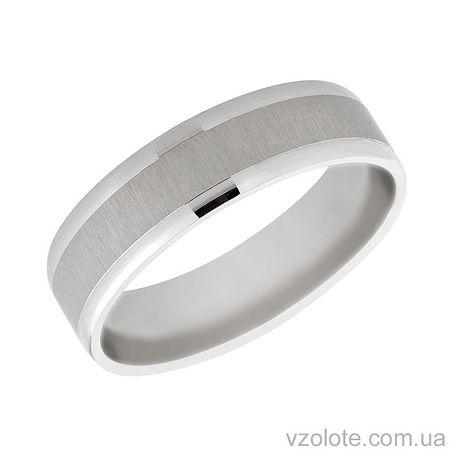 Золотое обручальное кольцо Элегия