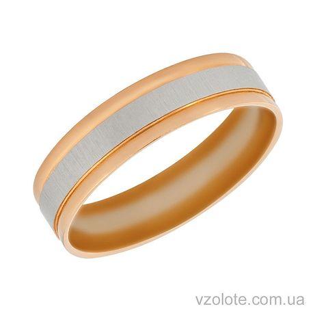 Золотое обручальное кольцо Моне